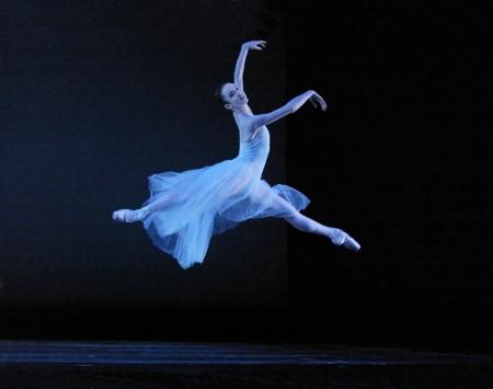 "Roper became a dream interpreter of Balanchine's ballets: here, in the master's ""Serenade."" Photo: Blaine Truitt Covert/2004"