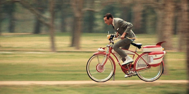 WTC cites legendary, longsuffering bike rider Peewee Herman (played by Paul Reubens) as the inspiration for their newest play.