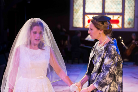 """Actress co-winners Merideth Kaye Clark (left) and Susannah Mars in """"The Light in the Piazza."""" Photo: Brud Giles"""