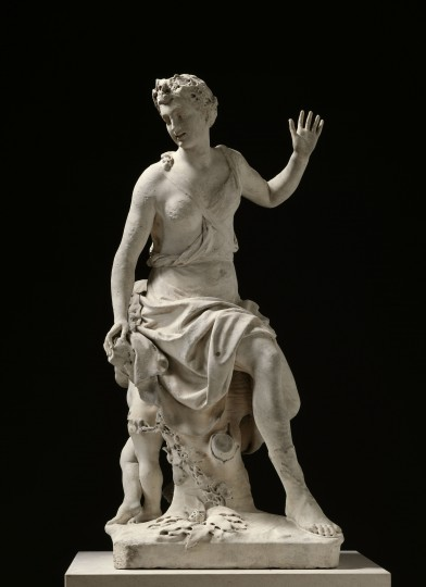 Antoine Coysevox, Hamadryade, 1710, marble. Photo courtesy RMN-Grand Palais / Art Resource, NY