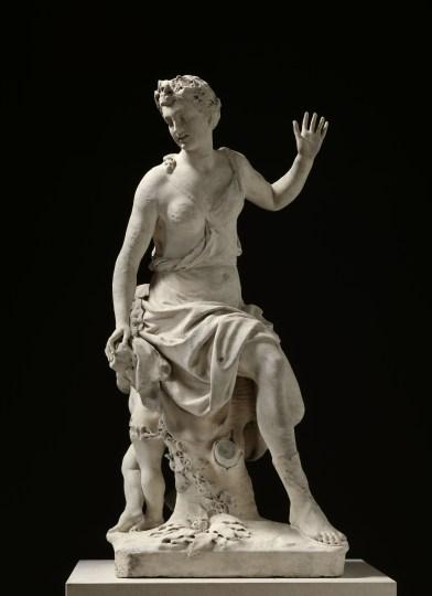 Antoine Coysevox, Hamadryade, 1710, marble. Photo courtesy RMN-Grand Palais / Art Resource, NY