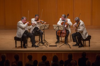 Watkins performed with the Emerson Quartet last weekend at Chamber Music Northwest.