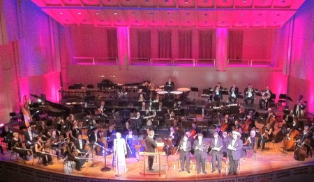 Storm Large repeats her Weilly, sinful Oregon Symphony performance with the Britt Festival Orchestra.