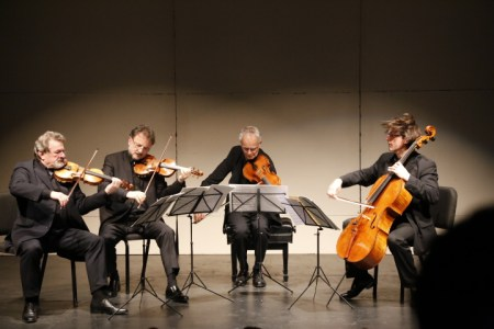 Philharmonia Quartett Berlin played some hair-raising Brahms at Portland State University. Photo: John Green.