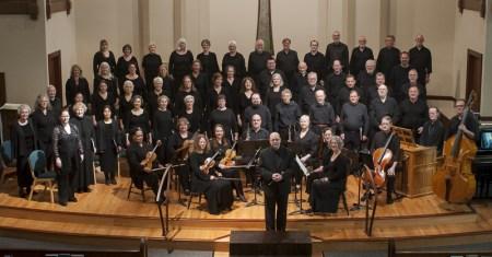 Bach Cantata Choir Sings Sunday.