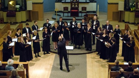 Cantores in Ecclesia performs Sunday.