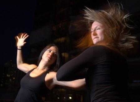 Erin Zintek (left) and Aneesa Turner. Photo: Scooter Curl