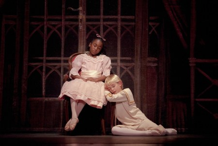 """Veyoncé Ratcliffe as Marie and Collin Trummel as Fritz in the 2011 """"Nutcracker."""" This year, Trummel will be the Nut Prince. Photo: Blaine Truitt Covert"""