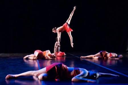 Agnieszka Laska Dancers accompany Tomas Svoboda's Etudes Saturday and Sunday. Photo: Chris Leck.