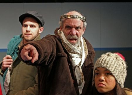 As Lear for Northwest Classical Theatre Company. Photo: Jason Maniccia