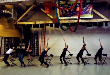 Groovin' Greenhouse host company, Polaris Dance Theatre.