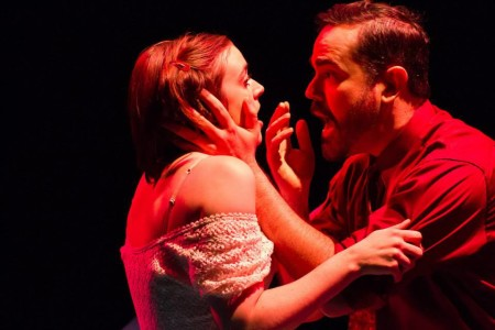 "Shawna Nordman and Nathan Dunkin in ""Neuroses."" Photo: Gary Norman"