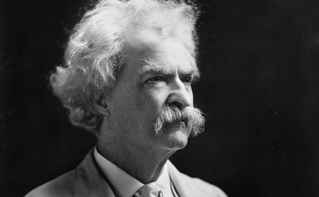 Samuel Clemens in later years. Library of Congress