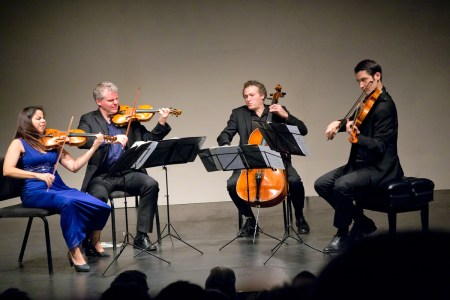 Pacifica Quartet performed at Portland State University's Lincoln Hall. Photo: John Green