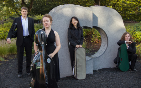 Delgani Quartet performs April 7 in Eugene.