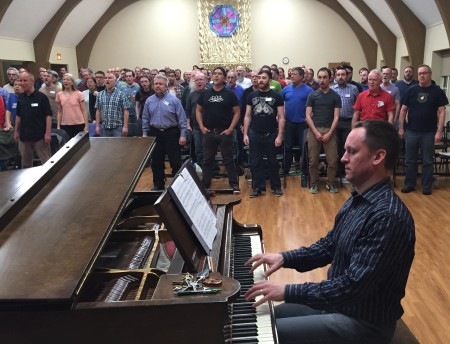 Scot Crandal and PGMC perform his new A Brighter Day this weekend.