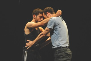 "Hillel Kogan and Adi Boutrous in ""We Love Arabs""/Gadi Dagon"