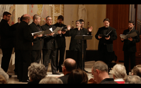Cappella Romana sang Schnittke and more at Portland's Trinity Cathedral.