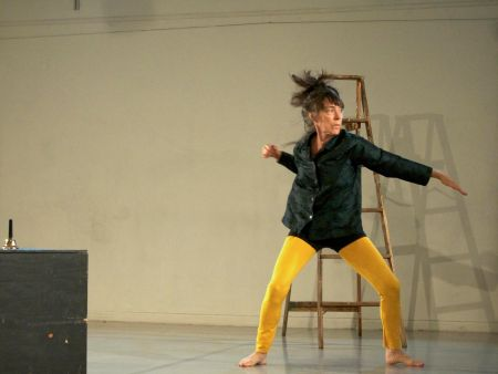 "Linda Austin started the Solo Relay as part of her dance investigation, ""(Un)Made""/Jeff Forbes"