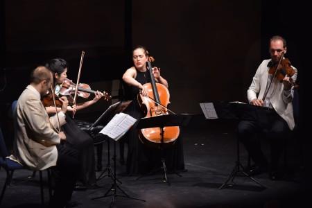 Kernis String Quartet No. 3_Jasper Quartet - photo by Jonathan Lange