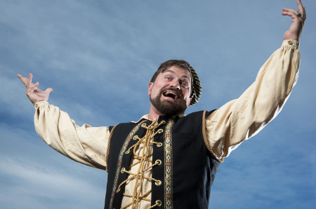 Peter Schuyler as Richard III Photo: Casey Campbell.