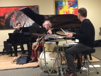 Goebel, Friesen and Doggett performed at Portland Piano Company.