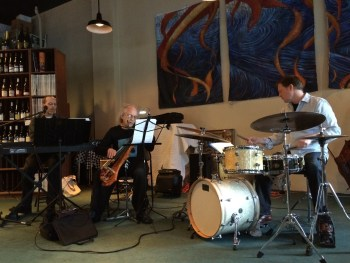 """Clifford, Friesen and Doggett  played music from Clifford's """"Azir."""""""