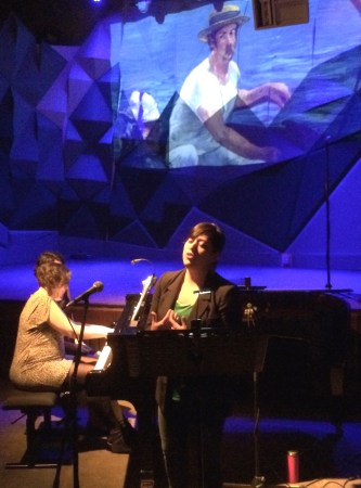 Valery Saul sang Debussy at Classical Revolution PDX last summer.