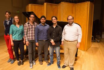 Dossin Studio graduate pianists perform. Photo: UO School of Music & Dance.
