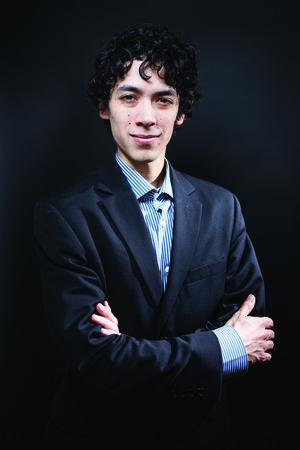 Pianist Justin Bartlett.