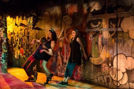 Beware the city: it's a jungle in there, Photo: Theatre Vertigo