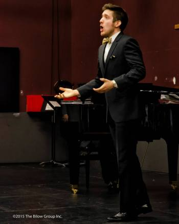 Matthew Polenzani gave a Friends of Chamber Music master class last spring in Portland. Photo: Steve Bilow.