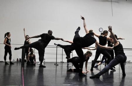 Polaris Dance Theatre in rehearsal. Photo courtesy of Polaris Dance Theatre.
