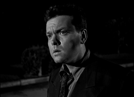 "Orson Welles in ""Lady from Shanghai."" Courtesy of Northwest Film Center"
