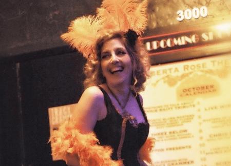 Miz Kitty, the vaudeville hostess with the mostest.
