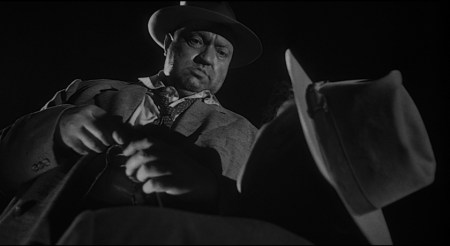 "Orson Welles in ""Touch of Evil."" Courtesy of the Northwest Film Center"