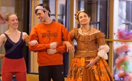 """Lauren Kessler, right, as Clara's Aunt Rose in Eugene Ballet's version of """"The Nutcracker."""" Photo courtesy Lauren Kessler."""