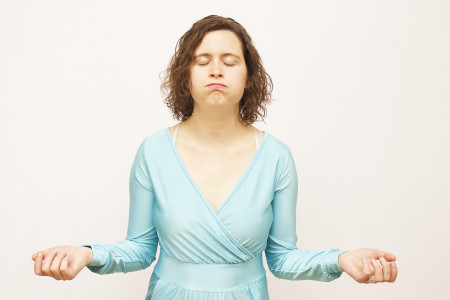 Faith Helma, exhaling. Photo: Nichole Stewart