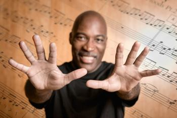 Portland pianist, composer and professor Darrell Grant.