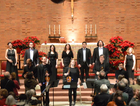The Ensemble performed Dido & Aeneas in Eugene and Portland. Photo: Corbett Niedfeldt.