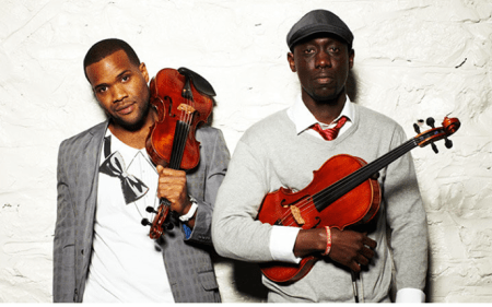 Black Violin performs Wednesday in Portland.