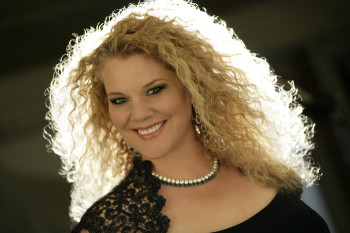 Michelle DeYoung performs Sunday at Portland State University.