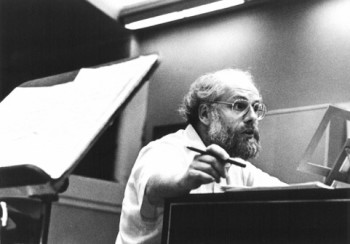 Koopman in the '80s. Photo: Portland Baroque Orchestra.