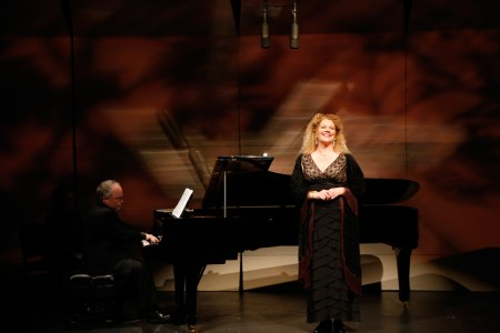 Friends of Chamber Music brought DeYoung and Murphy to Portland. Photo: John Green