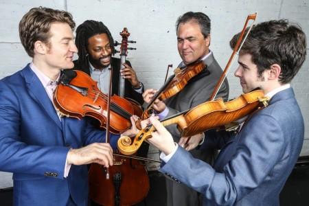 Portland5 brought Turtle Island String Quartet to Winningstad Theatre.