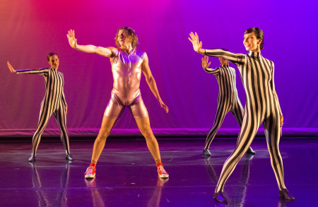 "Brent Luebbert, Anna Marra, Katie Scherman, Scott Stampone in China Forbes's ""Transformed."" Photo: Blaine Truitee Covert"
