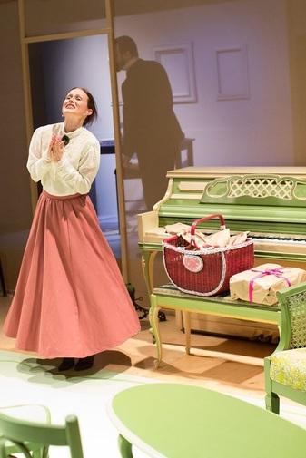 Nikki Weaver as Nora, Jacob Coleman as Torvald. Photo: Gary Norman