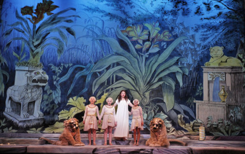 """The fantasia of """"The Magic Flute,"""" where the wild things are. Photo: Cory Weaver"""