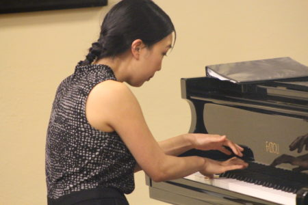 Tina Chong performed in Portland Piano International's Rising Star series.