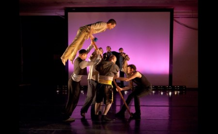 The company will also perform 'Bottomworld' in Eugene. Photo: BodyVox